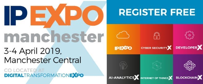 Join Us At IP EXPO Manchester 3rd & 4th April 2019