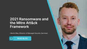 2021 Ransomware and the Mitre Att&ck Framework