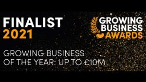 Bridewell Consultingare finalists in the 2021 Growing Business Awards!