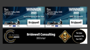 Bridewell Consulting doubles in size through Covid-19 as demand for cyber security services rockets
